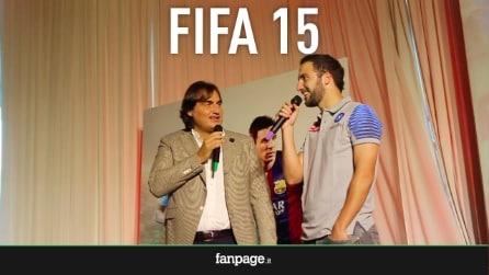 """Gonzalo Higuain presenta FIFA 15: """"Nel tempo libero e in ritiro gioco molto"""""""