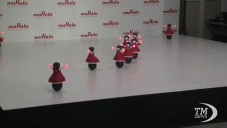 Giappone, arrivano le cheerleader robot