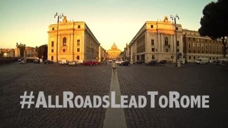 """""""All Roads Lead To Rome"""", il video vincitore del contest del canale youtube Roma Capitale"""