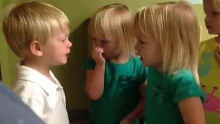 """""""Mi hai ferito!"""" e la discussione sul maltempo tra bambini finisce male"""
