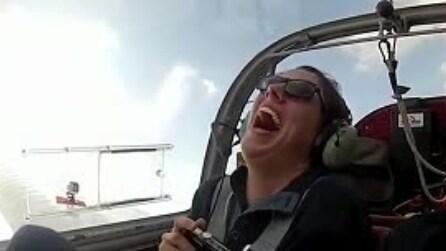 """Il giro panoramico in aereo si trasforma in un'incredibile """"proposta"""" di matrimonio"""