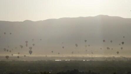 New Mexico, ecco il più grande festival delle mongolfiere al mondo