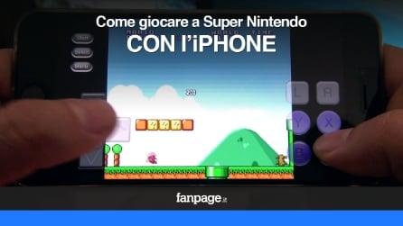 Come giocare a Super Nintendo su iPhone con iOS 8 senza Jailbreak