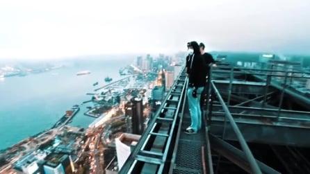 Uno sguardo su Hong Kong: volti, luci e grattacieli