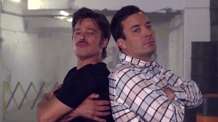 Jimmy Fallon & Brad Pitt, sfida a colpi di Breakdance