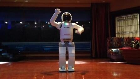 Il balletto del robot: l'androide della Honda