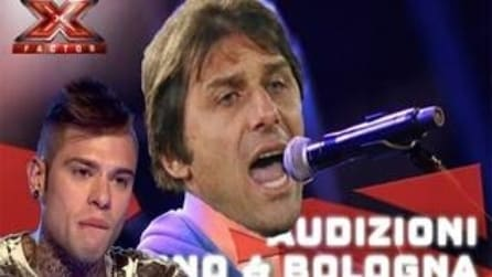 """""""Con-Te Vincerò"""", Conte a X-Factor in una simpatica parodia"""