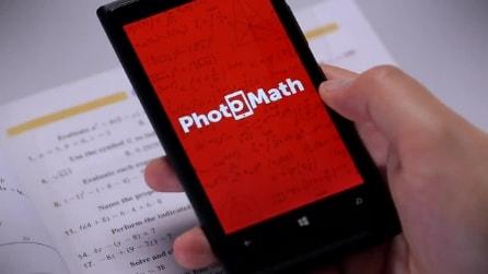 PhotoMath, l'applicazione per risolvere le equazioni con lo smartphone
