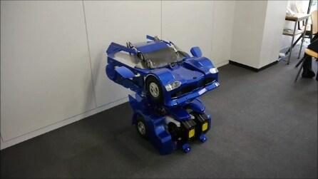 Da robot umanoide ad automobile, il Transformer esiste davvero
