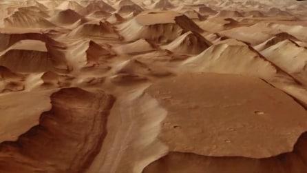 """Volando nel cielo di Marte: ecco i """"terreni caotici"""""""