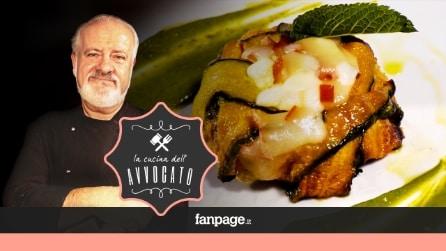 La Cucina dell'Avvocato - Parmigianina con alici, provola e menta