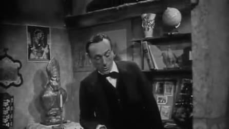 """Scena da """"Il professore"""" con Eduardo De Filippo"""