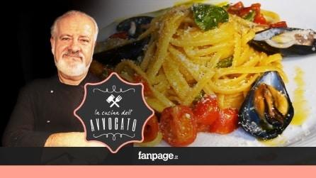La Cucina dell'Avvocato - Linguine con cozze, pomodorini e peperoncini verdi