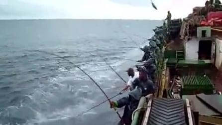 La pesca più veloce del mondo!