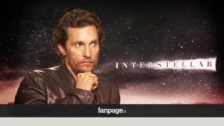 """Interstellar, Matthew McConaughey: """"Le aspettative del genere umano sono più grandi di noi"""""""
