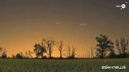 Le costellazioni visibili in questo cielo di novembre 2014