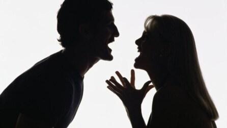 Litigare col partner può farti ingrassare