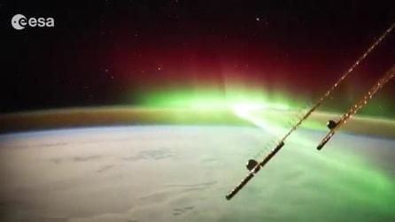 L'incredibile spettacolo dell'aurora boreale in Nuova Zelanda
