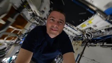 L'emozionante viaggio all'interno dell'ISS a 28.97 km/h con Reid Wiseman