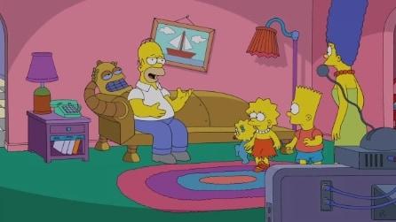"""Simpsorama"", una clip dal crossover tra ""I Simpson"" e ""Futurama"""