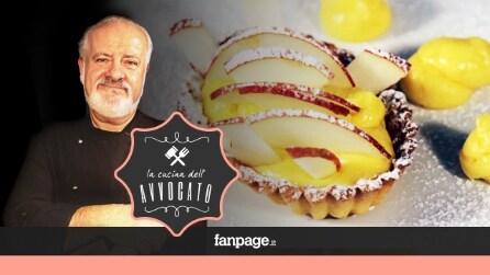 La Cucina dell'Avvocato - Crostatina di pasta frolla e crema pasticciera alla frutta