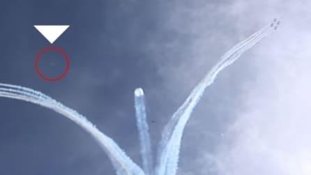 Avvistamento UFO durante esibizione delle Frecce Tricolori a Forte dei Marmi