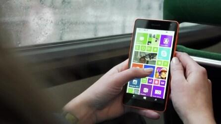Lumia 535, presentato ufficialmente il primo smartphone Microsoft Lumia