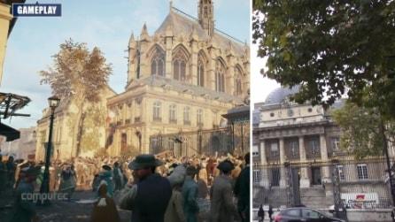 Assassin's Creed: Unity, le differenze tra la Parigi reale e quella presente nel gioco