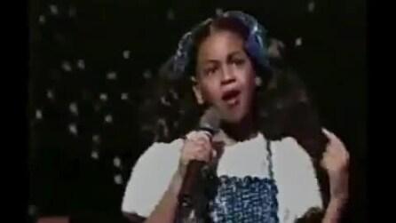 Ecco l'esibizione della giovane Beyonce al PW Awards