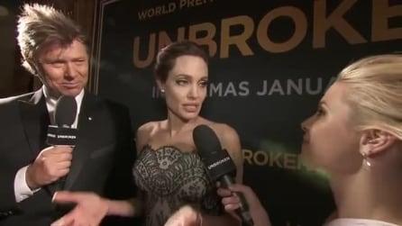 Angelina Jolie piange ricordando Louis Zamperini