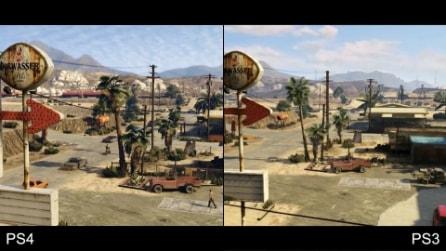 Grand Theft Auto V - Playstation 4 vs Playstation 3