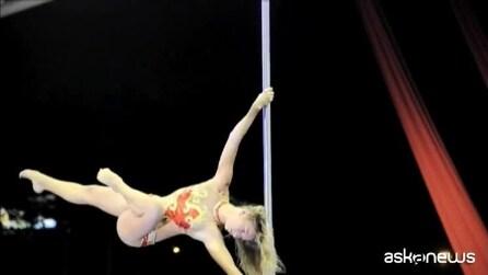 Pole Dance, le acrobazie al campionato sudamericano