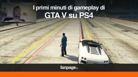 GTA 5 su PS4: i primi minuti di gameplay