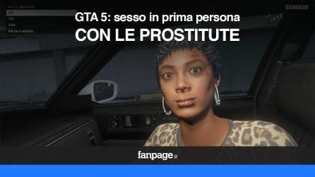 GTA 5 per Ps4 e XBOX One: sesso in prima persona con le prostitute VIDEO