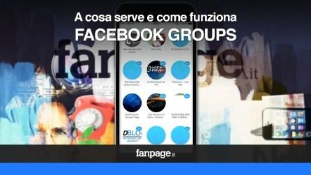 Facebook Groups: cos'è e come funziona VIDEO