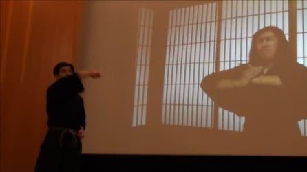 Roma, la dimostrazione del maestro Jinichi Kawakami all'Istituto giapponese di cultura