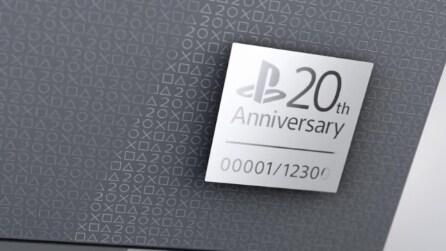 PlayStation 4 20th Anniversary Edition, l'edizione limitata di PS4 per i 20 anni di PlayStation