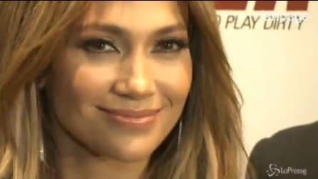 Jennifer Lopez elimina la cellulite con i diamanti