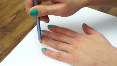 Come disegnare la tua mano in 3D