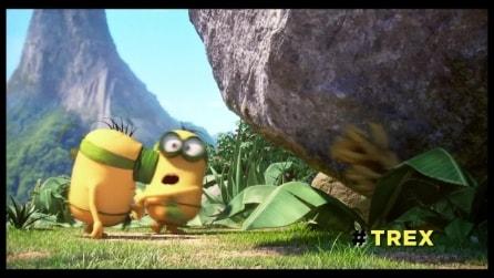 """Minions, la mini-clip """"T-Rex"""""""