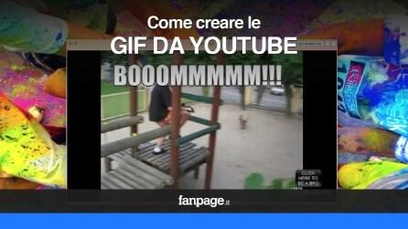 Come creare GIF animate da un video di YouTube