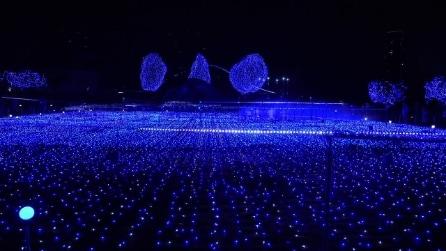 Tokyo, quante luci per Natale 2014