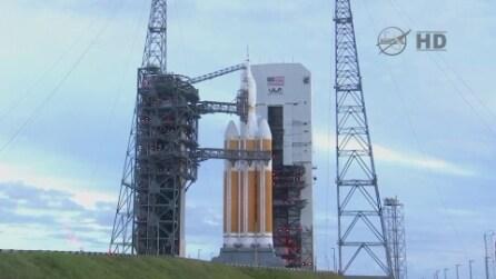 Orion è in viaggio verso lo spazio dopo il fallimento di ieri, oggi un nuovo lancio