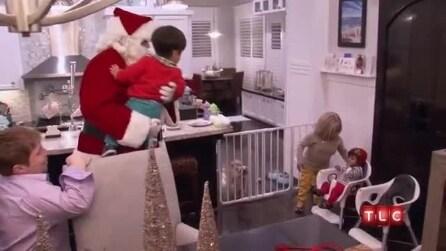 Will e Zoey incontrano Babbo Natale