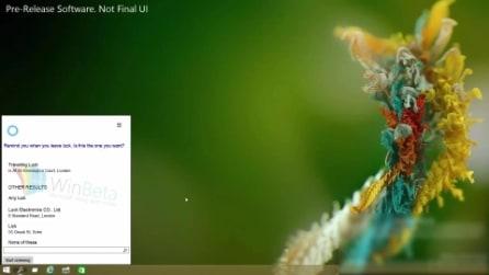 Cortana, l'assistente vocale di Windows 10