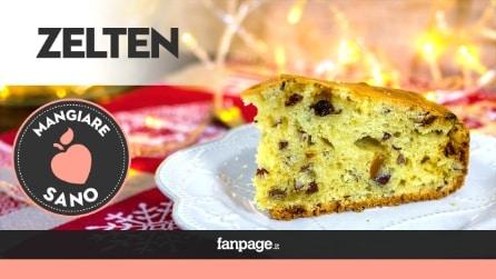 Zelten, la ricetta light del dolce tipico del Trentino