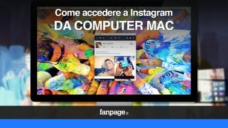 Come accedere a Instagram da computer Mac VIDEO
