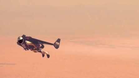 A 200 km/h nei cieli di Dubai, ecco l'uomo volante