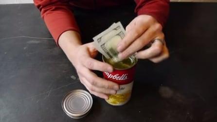 Ecco come trasformare una lattina di zuppa in una cassaforte sicura