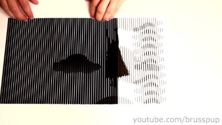 Fantastiche illusioni ottiche animate